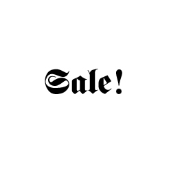 SALE! ALL