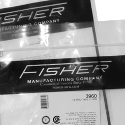 FISHER mixing faucet GN-1821
