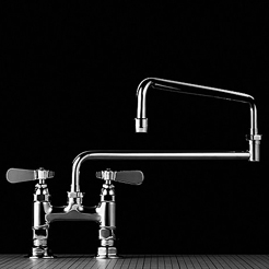 Swivel base faucet 9806-P3