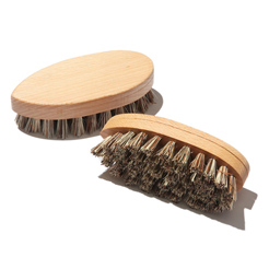 Vegetable brush fiber mix