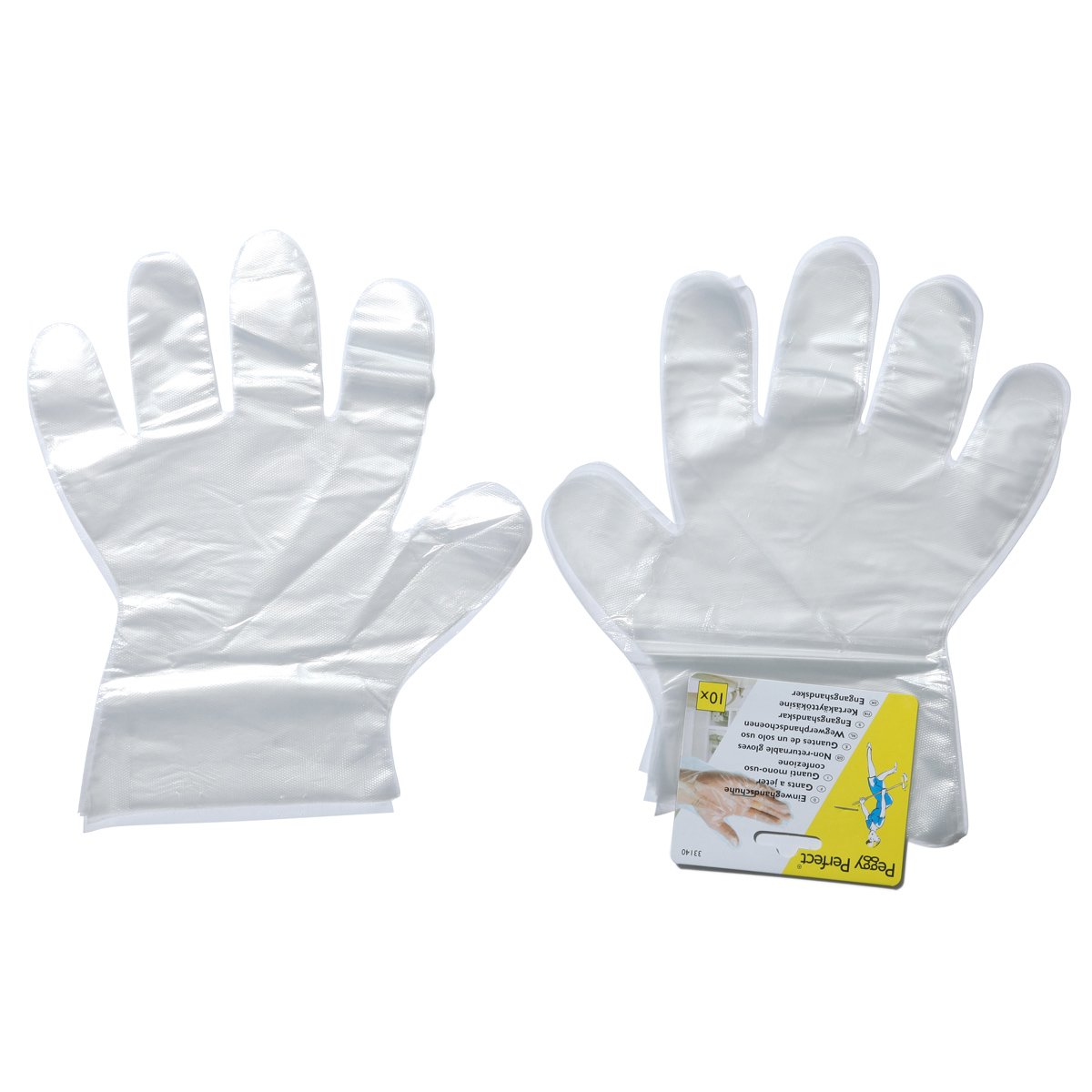 disposable gloves 10 pack general view