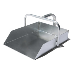Dustpan for road cleaning
