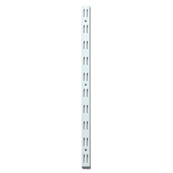 Wall upright, double slot 495mm