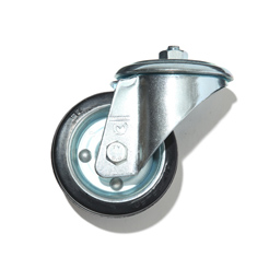 DH Rubber caster without brake