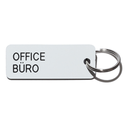 Key tag [OFFICE] wht/blk