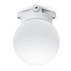 Lisilux ceiling-mounted fitting with globe