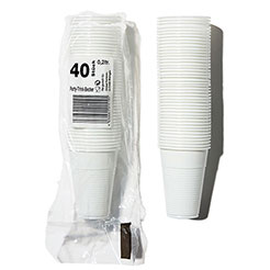 GP Plastic drink cup x 40