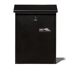 BW Mail box black