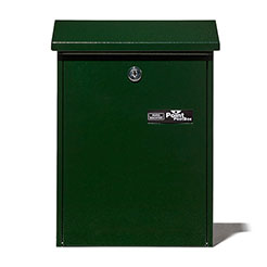 BW Mail box dark green