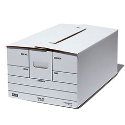 Uline File storage box x 3