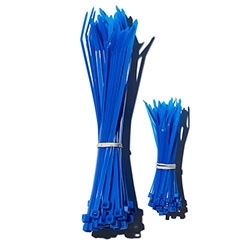 CE Cable ties neon blue
