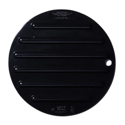 Waca saucer for hot pot blk