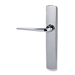 Door handle + plate chrome-2
