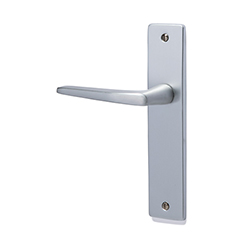 Door handle + aluminum plate-1