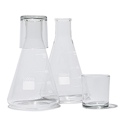 Carafe with tumbler 1L