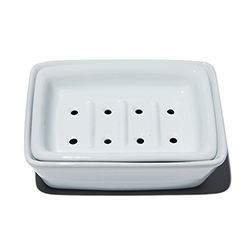 Soap dish porcelain insert 2 pcs