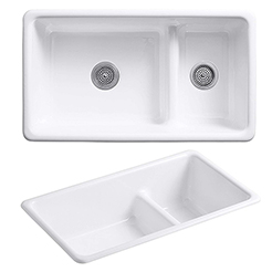KOHLER Kitchen double sink