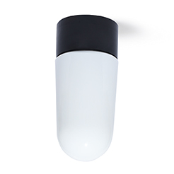 IFÖ Lamp stable glass opal black