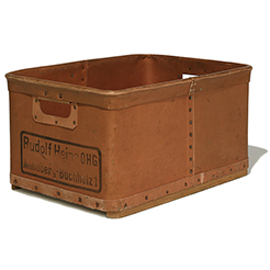 Vintage Fibre storage box