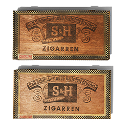 Vintage Cigar box set-6